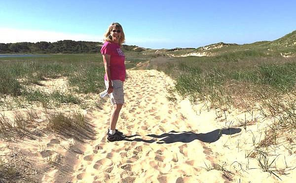 Gorgeous Day To Hike To Jeremy Point On Cape Cod