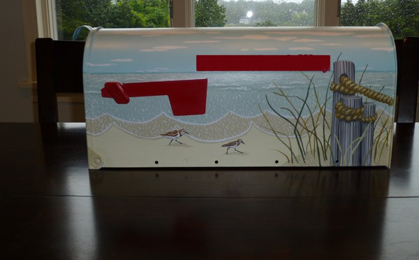 Our New Beachy Mailbox For Our New Home On Cape Cod