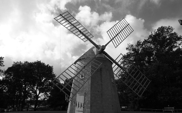 Jonathan Young Windmill In Orleans On Cape Cod