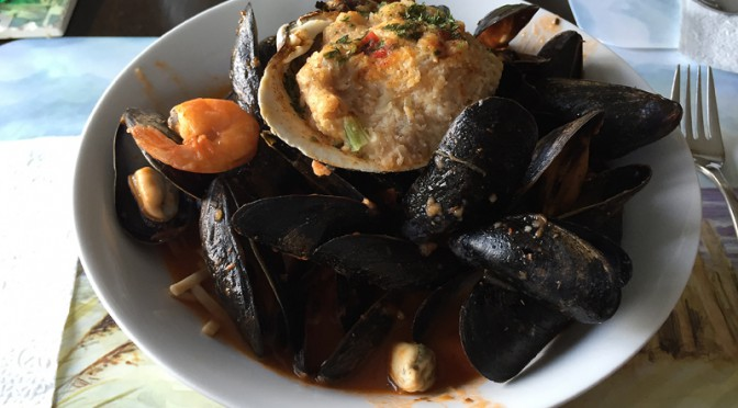 Mussels And Linguine Are The Perfect Seafood Dinner Here On Cape Cod