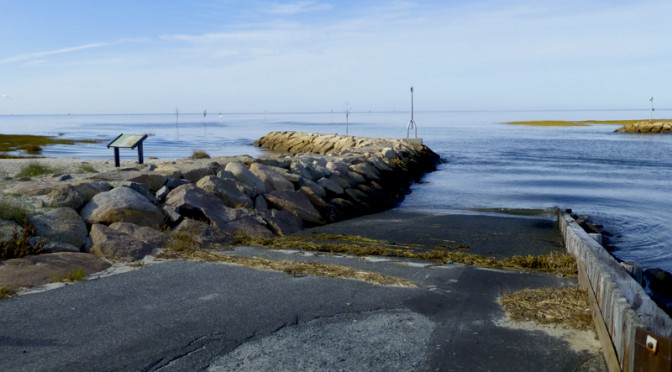 Quiet Fall Morning At Rock Harbor In Orleans On Cape Cod