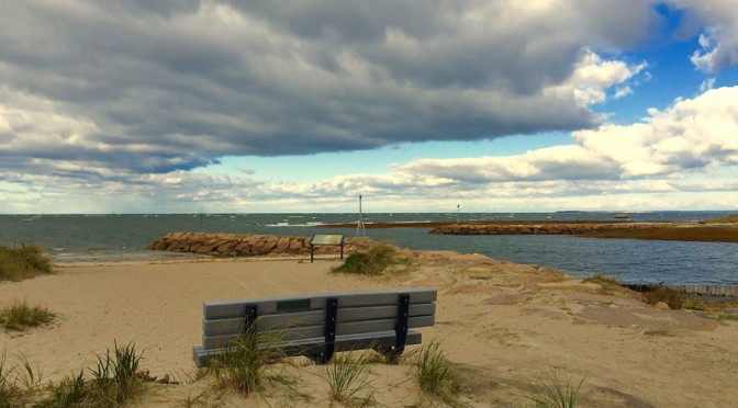 Boat Meadows In Eastham On Cape Cod As The Clouds Rolled In…