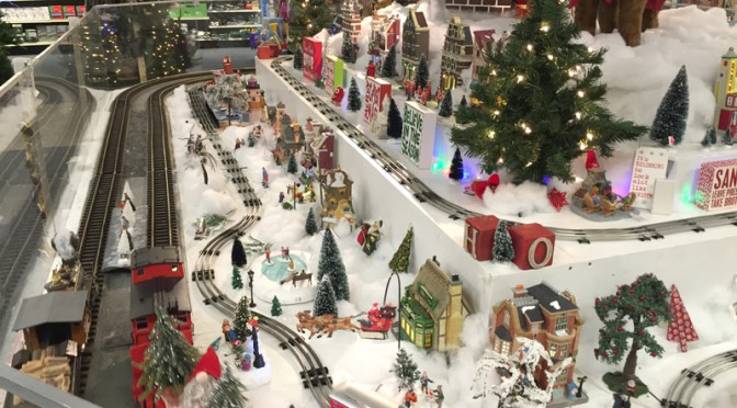 The Christmas Train At Snow's In Orleans On Cape Cod Is Up And Running