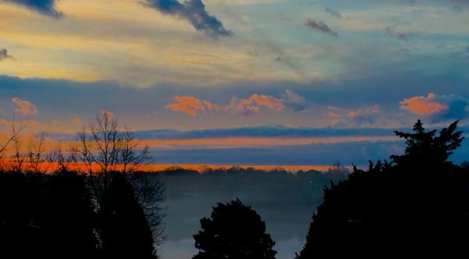 Gorgeous Sunrise On Christmas Day