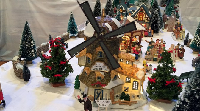Welcome To The Christmas Village At The Eastham Historical Society On Cape Cod