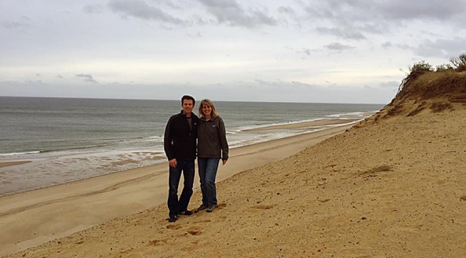Enjoying Holiday Family Time At White Crest Beach In Wellfleet On Cape Cod