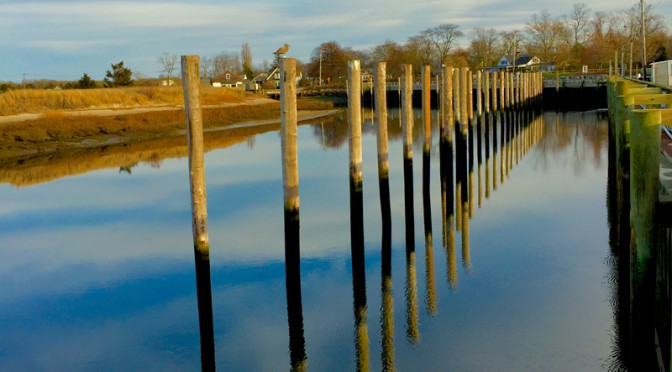 Reflection At Rock Harbor In Orleans On Cape Cod
