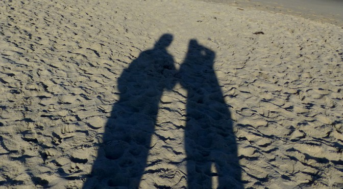 Great Shadow Photograph At Nauset Beach On Cape Cod!