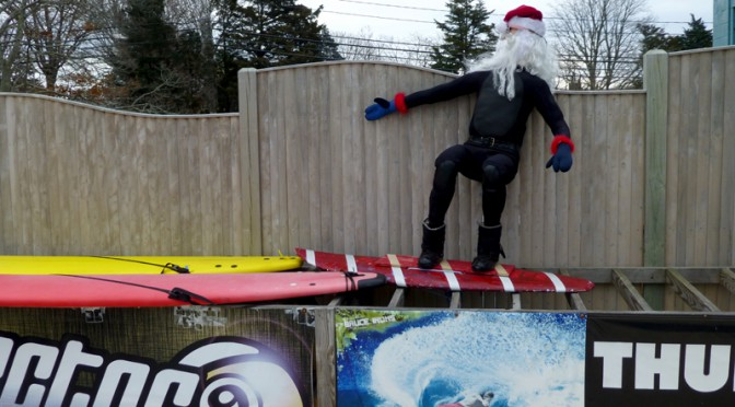 Surfin' Santa in Orleans…Only On Cape Cod!