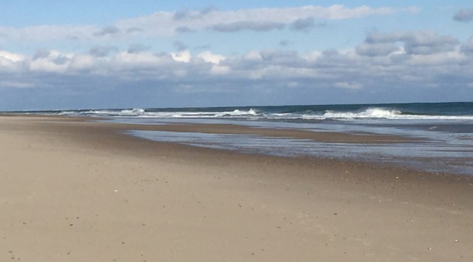 Gorgeous Day To Walk At Nauset Beach In Orleans On Cape Cod