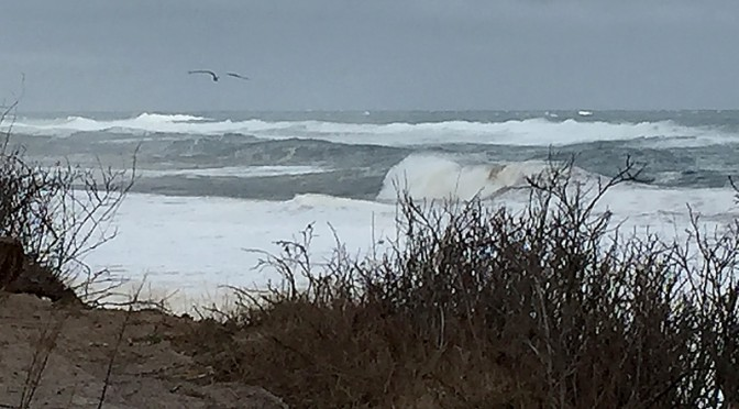 Huge Waves At Nauset Light After The Blizzard Last Weekend On Cape Cod