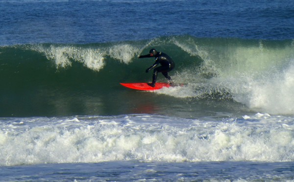 The Surfers Were Out In Droves At Nauset Beach On Cape Cod Yesterday