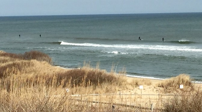 Lots of Paddleboard Surfers At Coast Guard Beach In Eastham on Cape Cod Last Weekend!