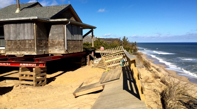 Living On The Edge Of The Dunes In Wellfleet On Cape Cod