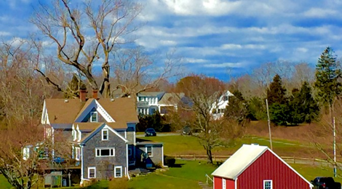 Beautiful Cape Cod Countryside At Fort Hill In Eastham
