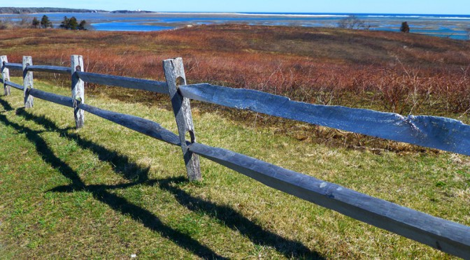 Spectacular Overlook of Nauset Marsh From Fort Hill In Eastham on Cape Cod