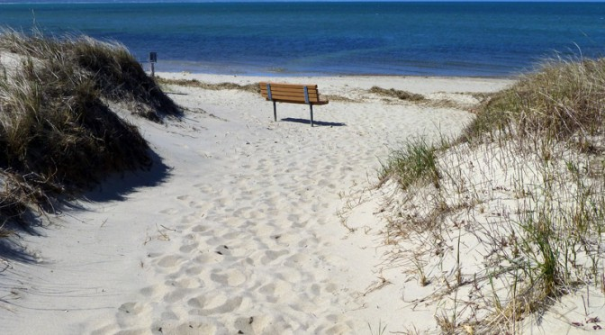 Waiting For Summer At First Encounter Beach In Eastham On Cape Cod