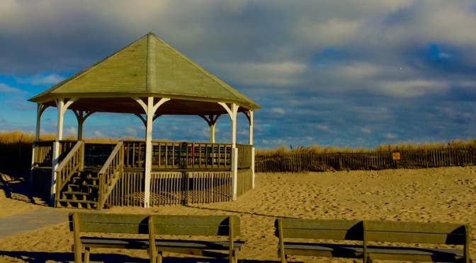 Bandstand At Nauset Beach On Cape Cod
