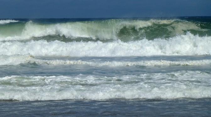 Huge Waves On The National Seashore At Nauset Beach
