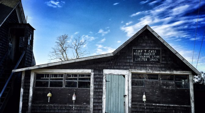 Captain T. Cass's Marine Store And Lobster Shack At Rock Harbor In Orleans On Cape Cod