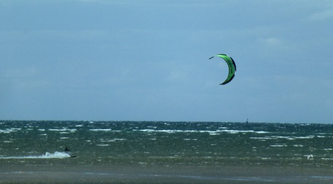 Great Day For Kite Surfing On Cape Cod Bay