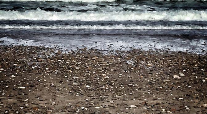 Artsy Wave Photograph At Nauset Beach On Cape Cod