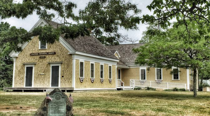 Eastham Historical Society And Original Schoolhouse On Cape Cod