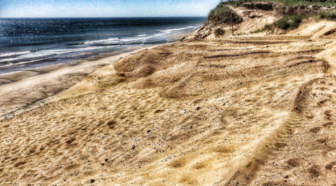 White Crest Beach Dunes In Wellfleet On Cape Cod Are Huge