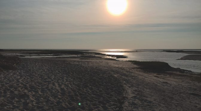 Beautiful Sunset At Boat Meadow Beach In Eastham On Cape Cod