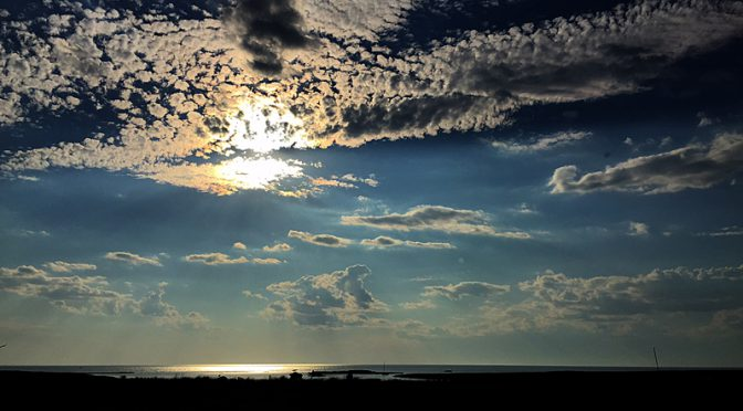 Beautiful Evening Clouds At Boat Meadow In Eastham On Cape Cod