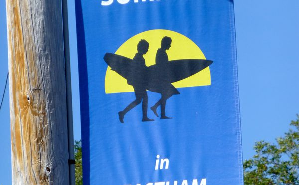 The Summertime Eastham Banners Are Up On Cape Cod