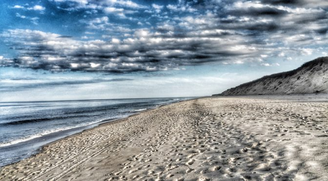 Gorgeous Evening For A Walk on Nauset Light Beach In Eastham On Cape Cod