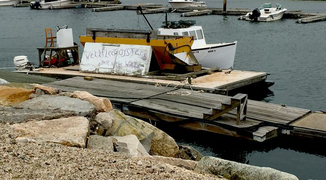 Oyster Boat In Wellfleet On Cape Cod