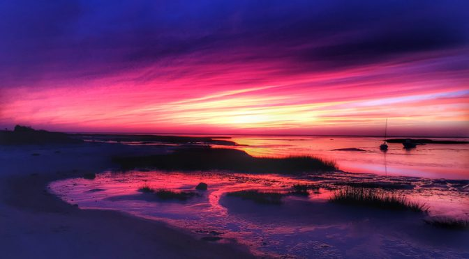 Another Spectacular Sunset On Cape Cod Bay