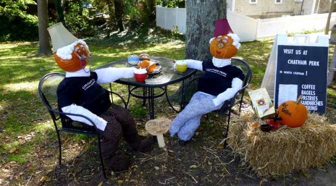 Halloween in Chatham On Cape Cod