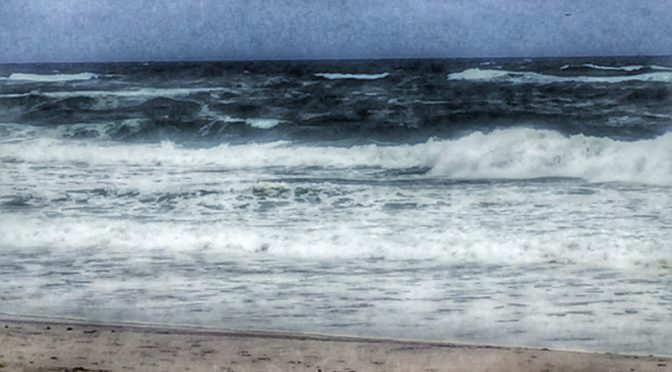 The Waves At Nauset Beach In Orleans On Cape Cod Are Huge!