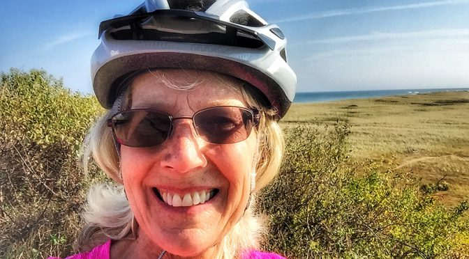 Glorious Day For A Bike Ride To Coast Guard Beach, Nauset Light And Nauset Light Beach On Cape Cod