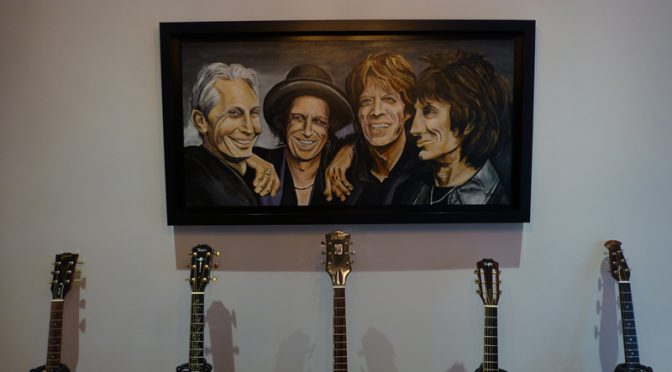 The Rolling Stones in Oil… On Cape Cod!