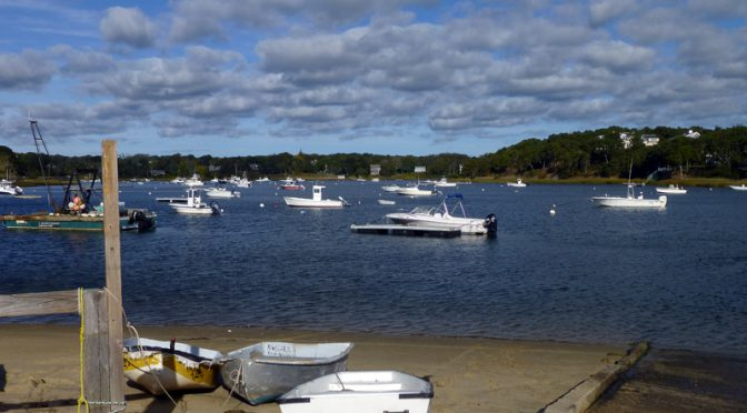 Beautiful Day At Chatham Harbor On Cape Cod