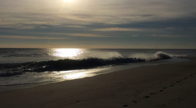Nauset Beach On Cape Cod On A Cold Winter Morning