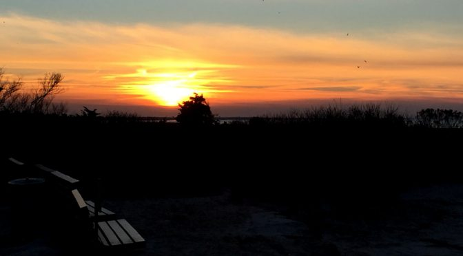 Spectacular Sunset On Cape Cod Bay