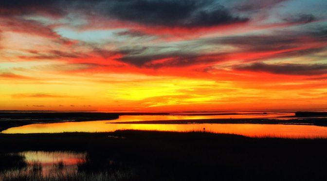 Beautiful Sunset On Cape Cod Bay