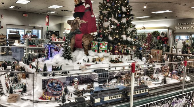 Holiday Model Train At Snows In Orleans On Cape Cod