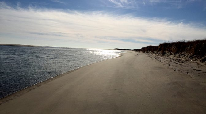 Beautiful Morning For A Winter Walk At Chatham Beach On Cape Cod