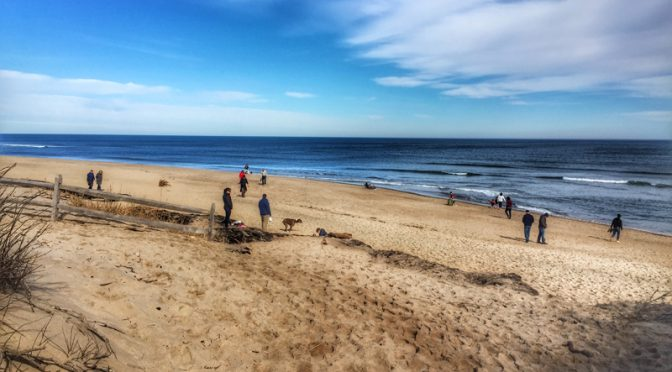 Coast Guard Beach In Eastham On Cape Cod Was Popular This Past Weekend