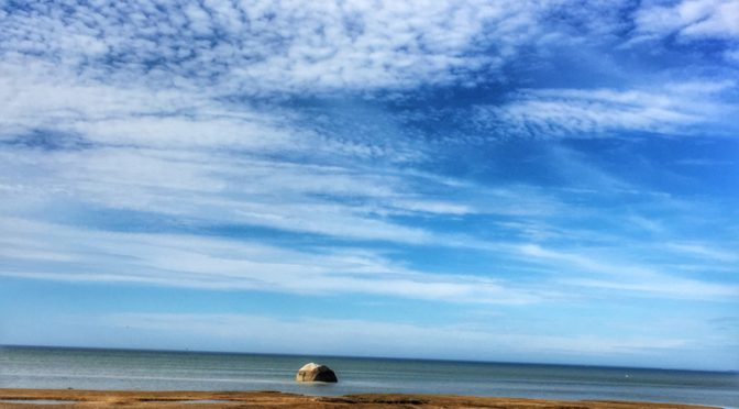 Gorgeous Day At Rock Harbor On Cape Cod Bay