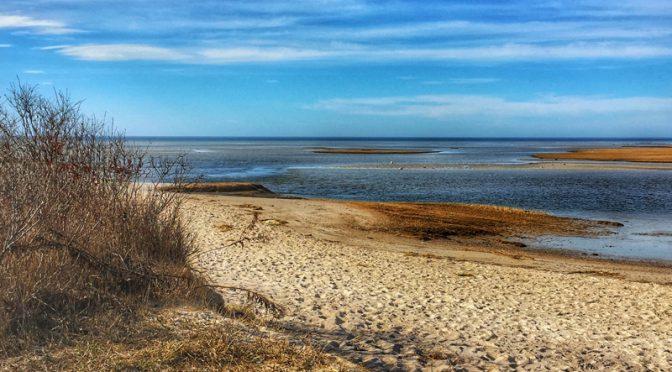 Beautiful  Beach On Cape Cod Bay