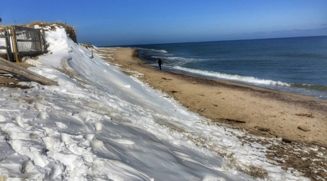Nauset Beach In Orleans On Cape Cod Was Beautiful After The Snow!