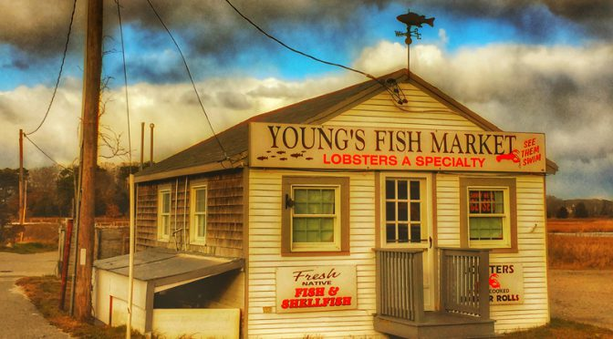 Young's Fish Market At Rock Harbor On Cape Cod