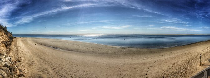 Pano From Morris Island In Chatham On Cape Cod